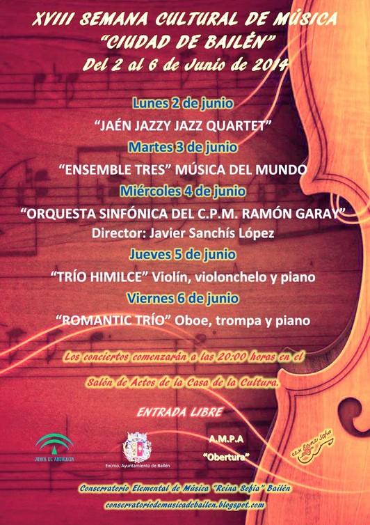 SEMANA MUSICAL DEL CONSERVATORIO