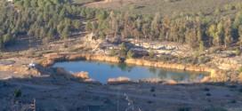COMARCA: La delegada de la Junta visita la zona de las antiguas balsas de lodos mineros clausuradas en El Centenillo