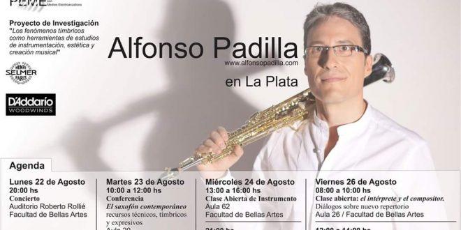EL MÚSICO BAILENENSE ALFONSO PADILLA ACTUA EN BUENOS AIRES