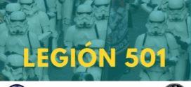 Una invasión de solidaridad galáctica  nos trae la Legión 501 de Star Wars