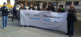 El PCE en Bailén contra la precariedad en el empleo.SECRETARÍA DE COMUNICACIÓN DEL PCA- JAÉN