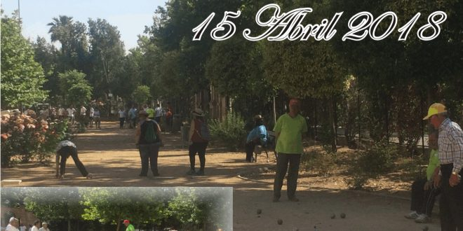 XXI CIRCUITO PROVINCIAL DE PETANCA 2018