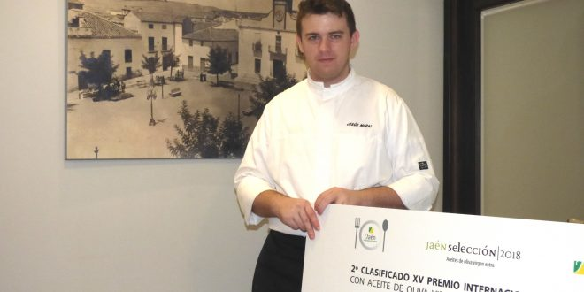 Un cocinero bailenense muy reconocido en la innovación gastronómica.
