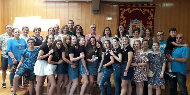 La Asociación  Cultural de danza Contratiempos volvió de Roma con un importante premio.