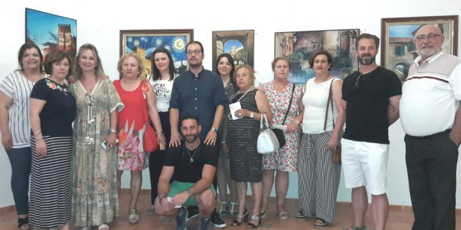 PINTORES DE LA COMARCA NORTE LLENAN DE LUZ Y COLOR EL MUSEO DE BAÑOS
